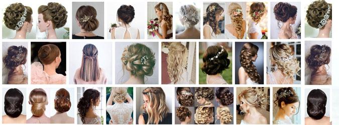 Banyak pilihan gaya rambut untuk pernikahan yang bisa dibuat tanpa bantuan seorang hairstyler profesional