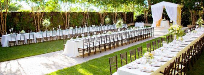 Mempersiapkan tempat pernikahan dari jauh-jauh hari dapat menghemat lebih dari 50% biaya sewa tempat