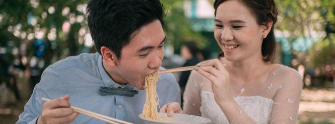 Menu makanan adalah elemen paling mahal dari sebuah pesta pernikahan