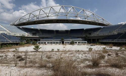 Stadium Olimpiade di Athena yang Ditinggalkan