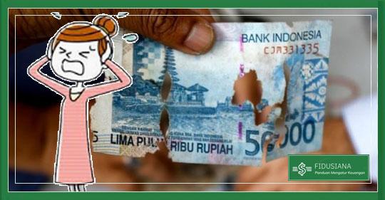 Penyebab Uang Mengalami Kerusakan dan Cara Mencegahnya